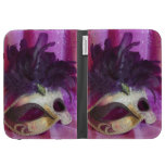 Purple Masquerade Mask Cases For The Kindle
