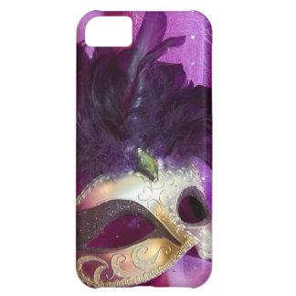 Purple Masquerade Mask iPhone 5C Case