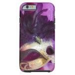 Purple Masquerade Mask iPhone 6 Case