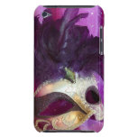 Purple Masquerade Mask iPod Touch Cover