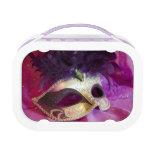 Purple Masquerade Mask Yubo Lunch Box