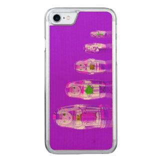 Purple Matryoshka Russian Dolls iPhone 6 Slim Carved iPhone 7 Case