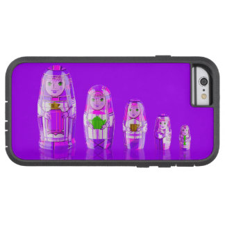 Purple Matryoshka Russian Dolls Phone 6 Case