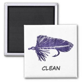 """Purple Matuka"" Dish Washer Status Magnet"