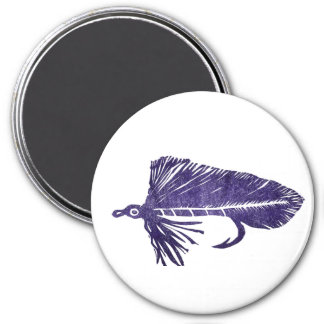 """Purple Matuka Streamer"" Classic Trout Fly Magnet"