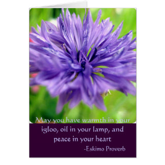 purple, May you have warmth in your igloo, oil ... Card