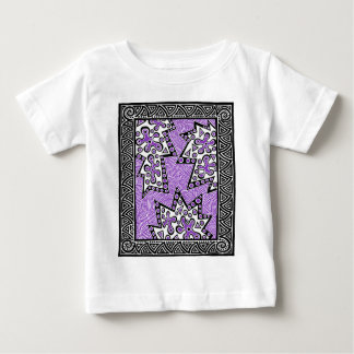 Purple Maze In The Middle Baby T-Shirt