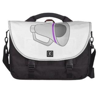 Purple Megaphone Commuter Bag
