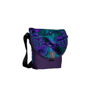 Purple Meltdown Mini-Bag Courier Bags