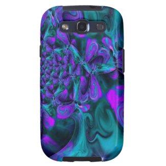 Purple Meltdown Samsung Galaxy Galaxy SIII Case