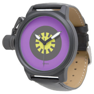 Purple / Mens Watch Reloj De Mano