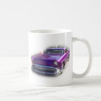 Purple Mercury Hot Rod Car Show Vintage Coffee Mug