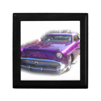 Purple Mercury Hot Rod Car Show Vintage Jewelry Box
