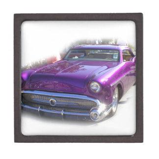 Purple Mercury Hot Rod Car Show Vintage Gift Box
