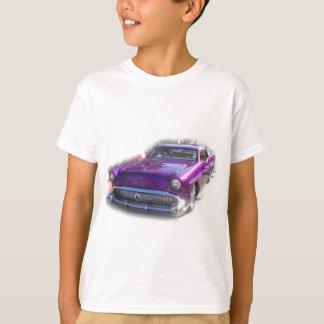 Purple Mercury Hot Rod Car Show Vintage T-Shirt