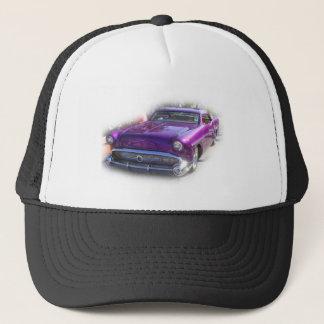 Purple Mercury Hot Rod Car Show Vintage Trucker Hat