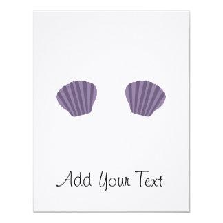Purple Mermaid Bikini Card