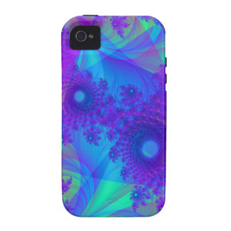 Purple Mess Case-Mate Case iPhone 4 Covers
