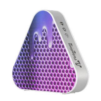 Purple Metal design bluetooth speaker