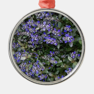 Purple Metal Ornament