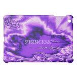 Purple Metallic Clouds iPad Case
