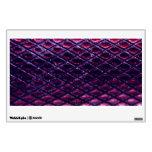 Purple Metallic Snakeskin Pattern Room Decal