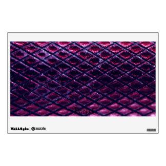Purple Metallic Snakeskin Pattern Wall Sticker