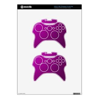 Purple Metallic Xbox 360 Controller Decal