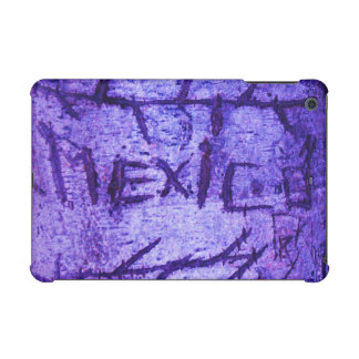 Purple Mexico Tree Graffiti iPad Mini Retina Cover