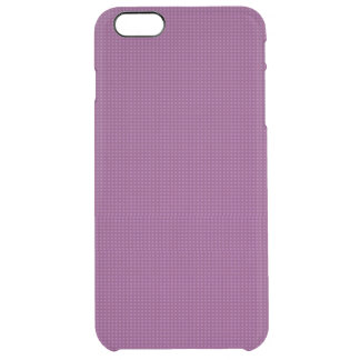 Purple Microdot Patterned Uncommon Clearly™ Deflector iPhone 6 Plus Case