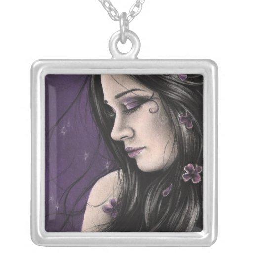 Purple Midnight Necklace
