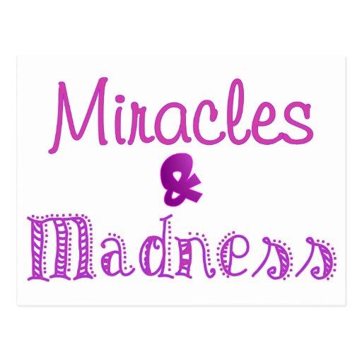 Purple Miracles Postcard