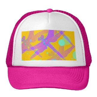 Purple Mirage dragonflies by SHARLES Trucker Hats