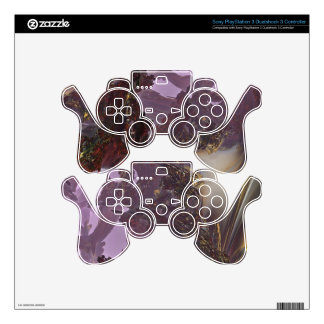 PURPLE MIRAGE MANDELBULB FRACTAL 3D. IMG PS3 CONTROLLER DECALS