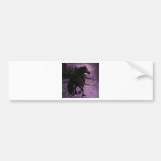 """Purple Mist"" Bumper Sticker"