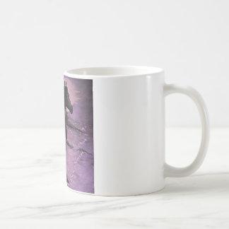 """Purple Mist"" Classic White Coffee Mug"