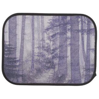 Purple Misty Forest Rear Car Mat