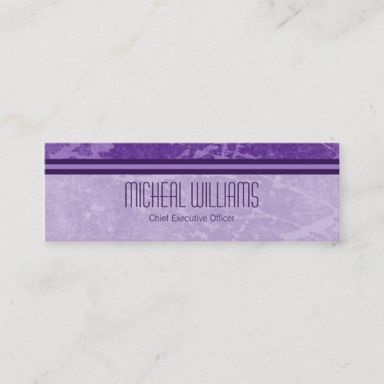 Purple modern ceo company micro business cards zazzle purple modern ceo company micro business cards colourmoves