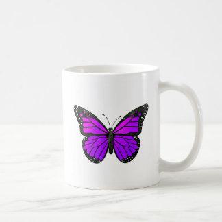 Purple Monarch Butterfly Coffee Mug