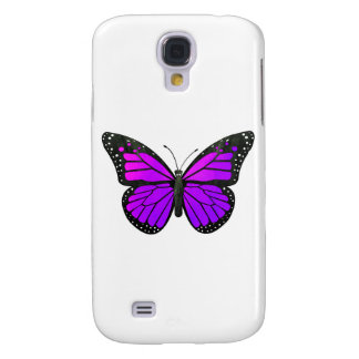 Purple Monarch Butterfly Galaxy S4 Cover