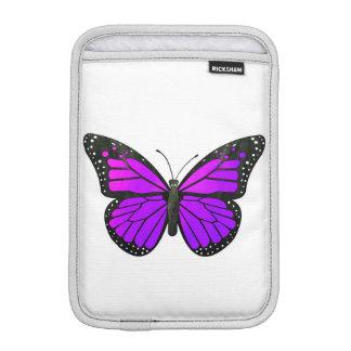 Purple Monarch Butterfly iPad Mini Sleeves