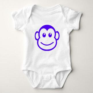 Purple Monkey Baby Outift T Shirts