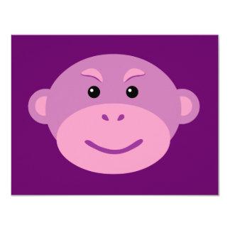 Purple Monkey Card