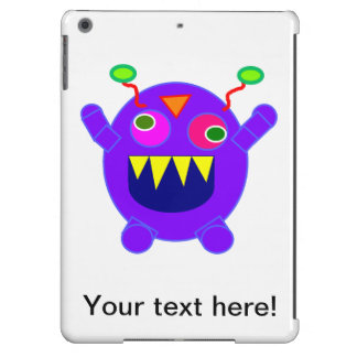 Purple monster cartoon iPad air covers