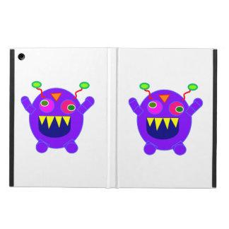 Purple monster cartoon iPad air cover