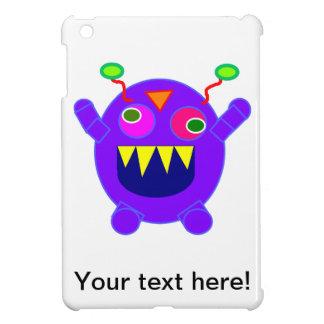 Purple monster cartoon case for the iPad mini