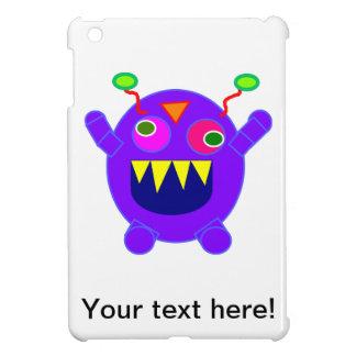 Purple monster cartoon iPad mini cases