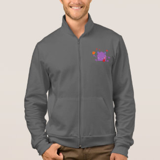 Purple Monster Mens Jacket