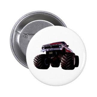 Purple Monster Truck Button