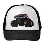 Purple Monster Truck Trucker Hat